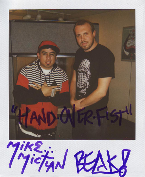 Mike Mictlan and Lazerbeak