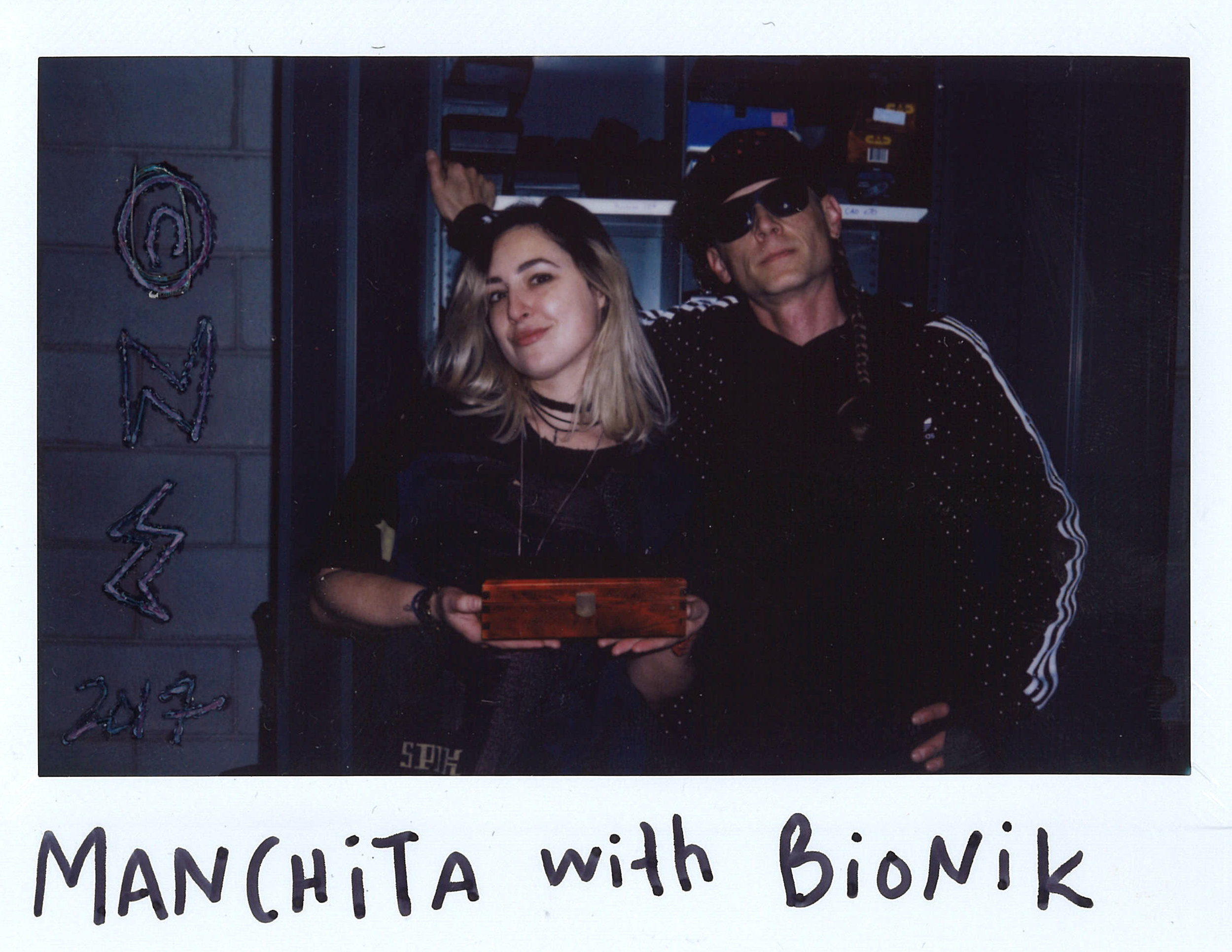Manchita with Bionik
