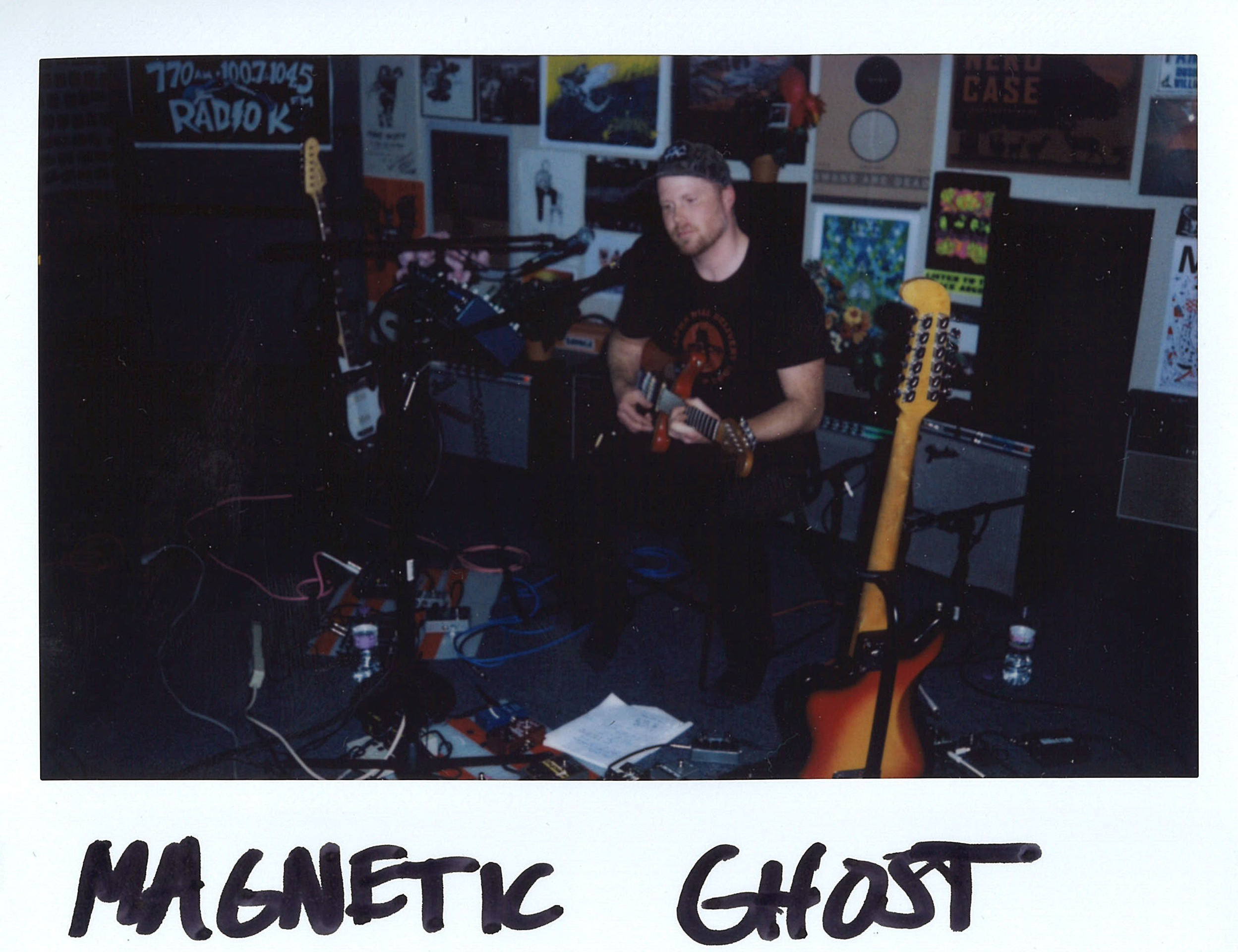 Magnetic Ghost