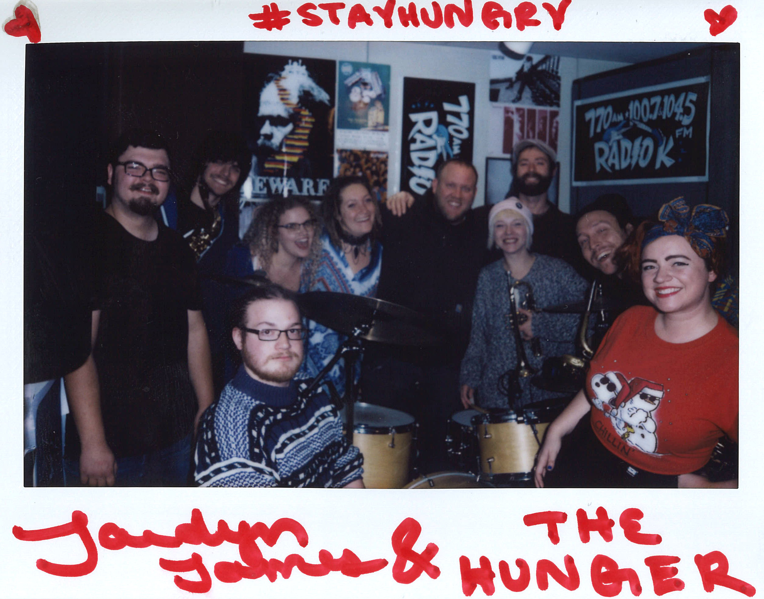 Jaedyn James and The Hunger