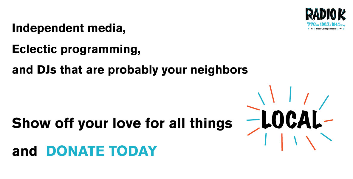 Independent media, eclectic programming, and DJs that are probably your neighbors. Show off your love for all things LOCAL and DONATE TODAY