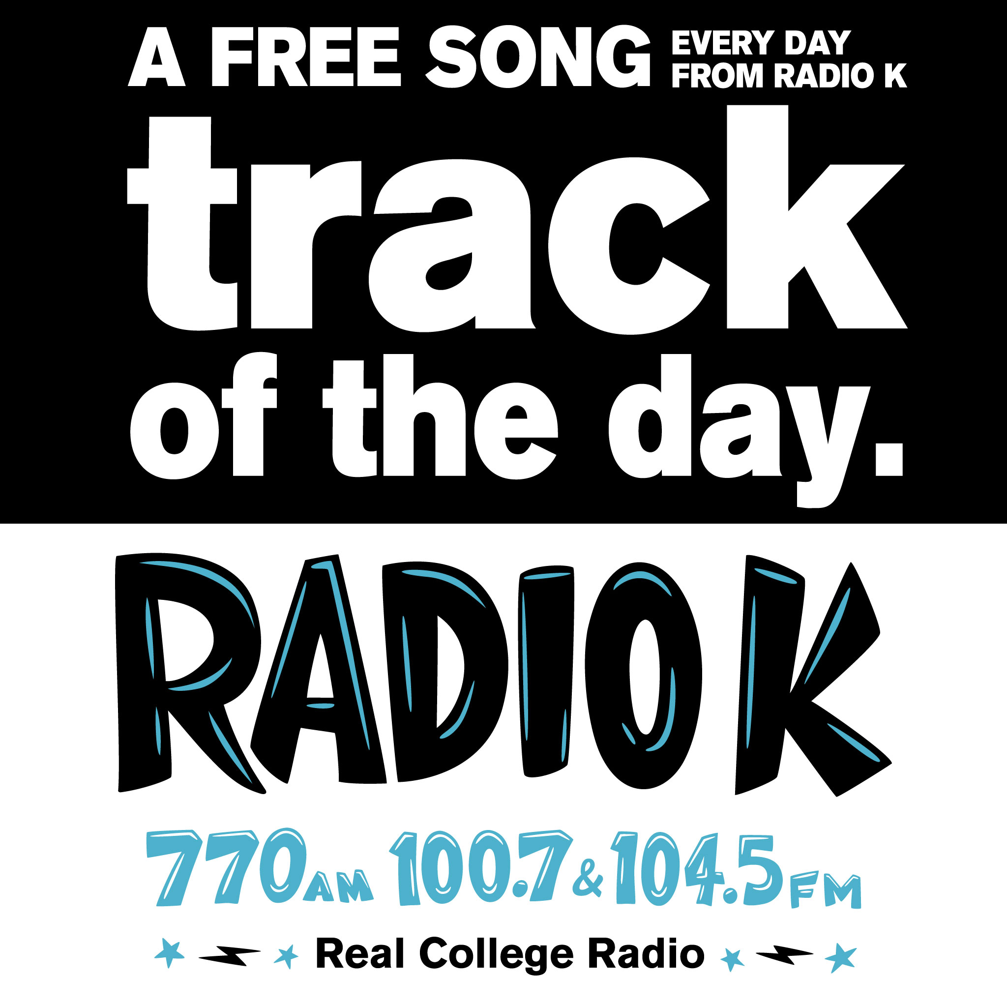 Radio K's Track of the Day