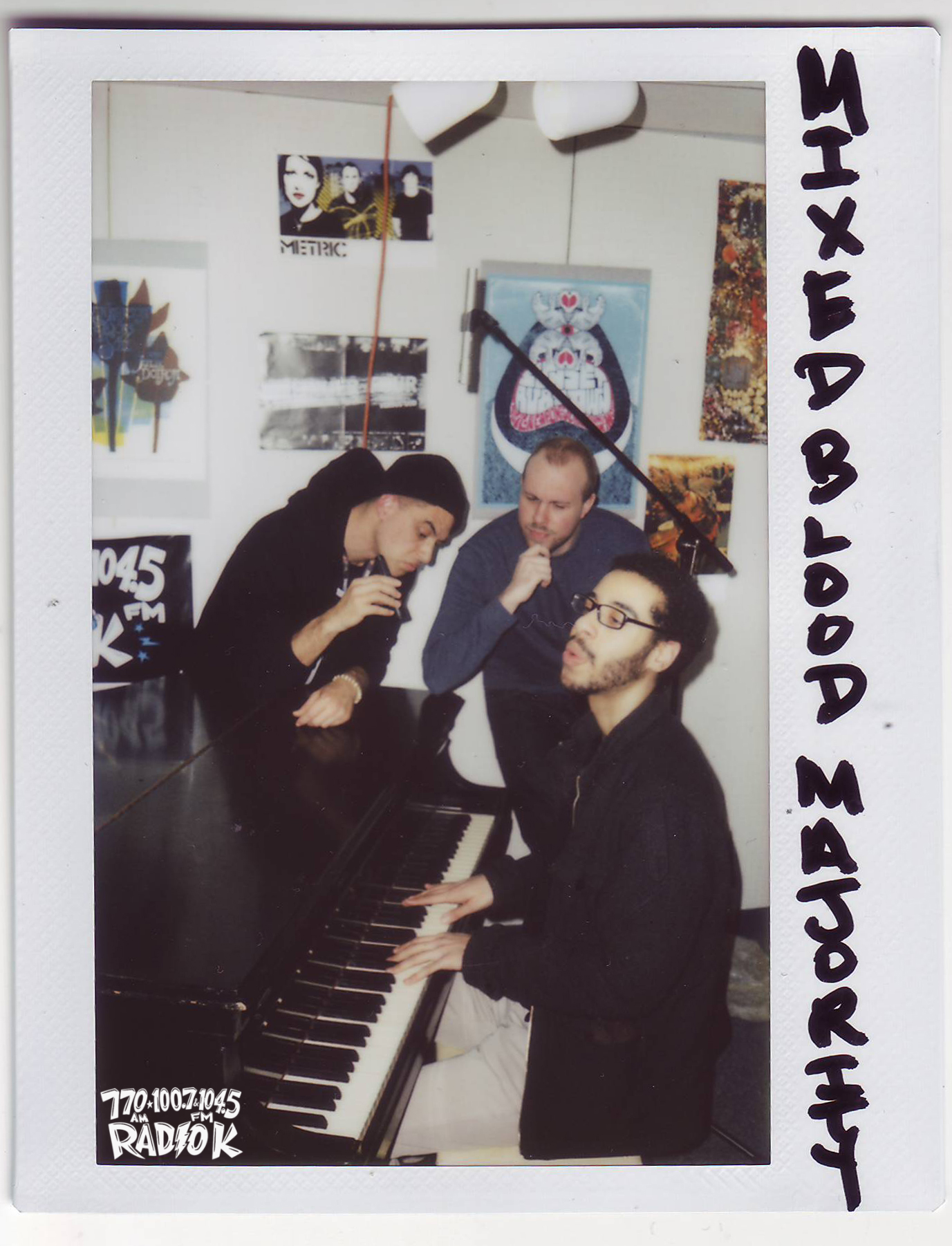 Mixed Blood Majority Radio K In-studio Polaroid Off The Record