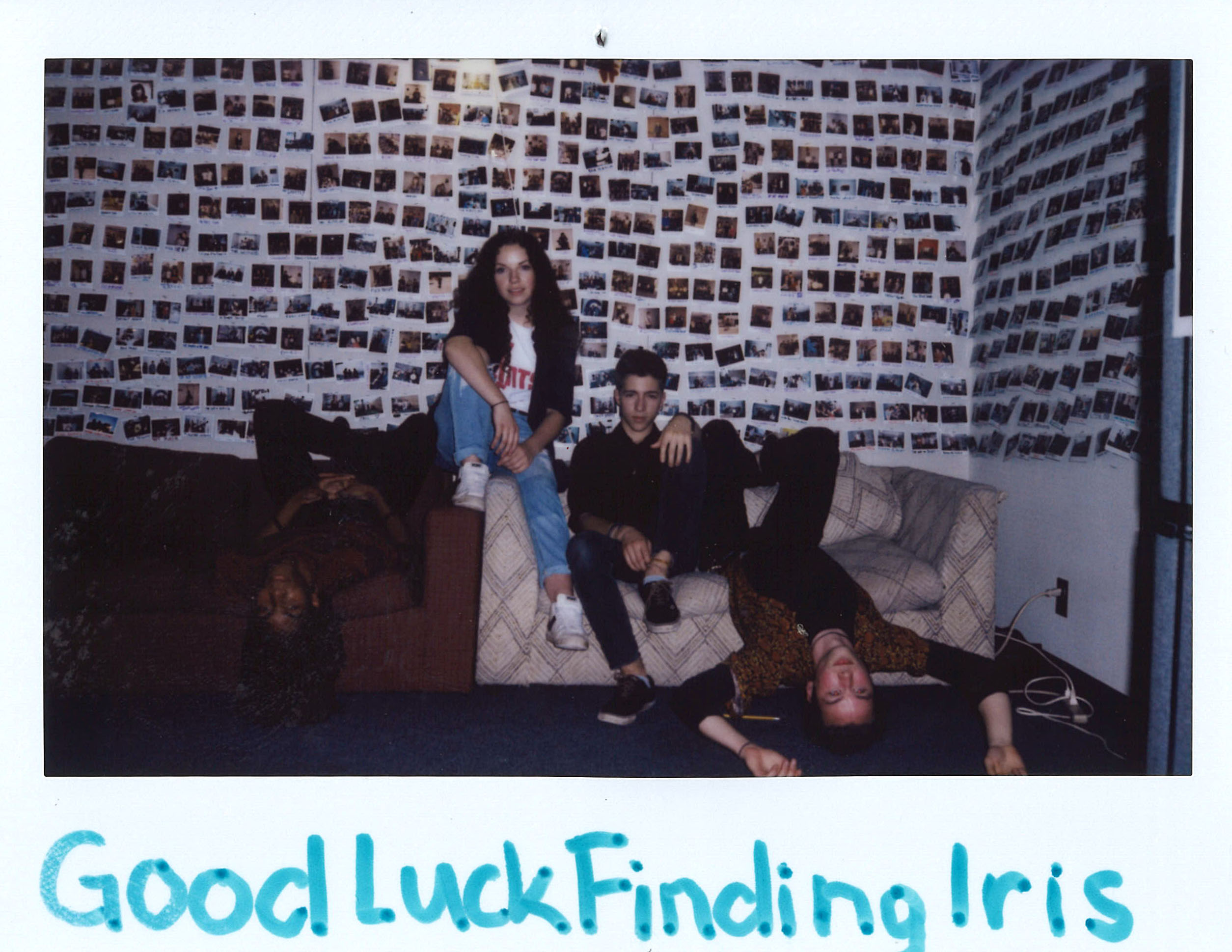 Good Luck Finding Iris