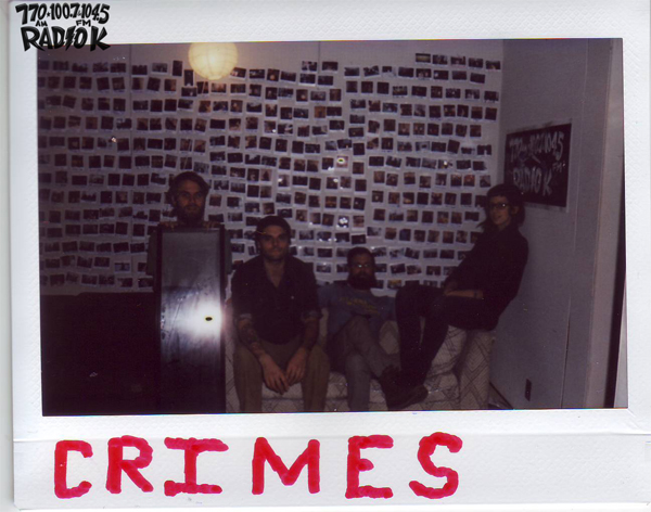 Crimes - Radio K In-Studio