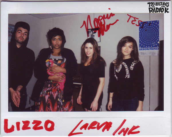 Lizzo & The Larva Ink